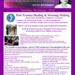 MW January Post Trauma Healing&Meaning-Making