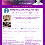 MeaningfulWorld View & Forgivensss