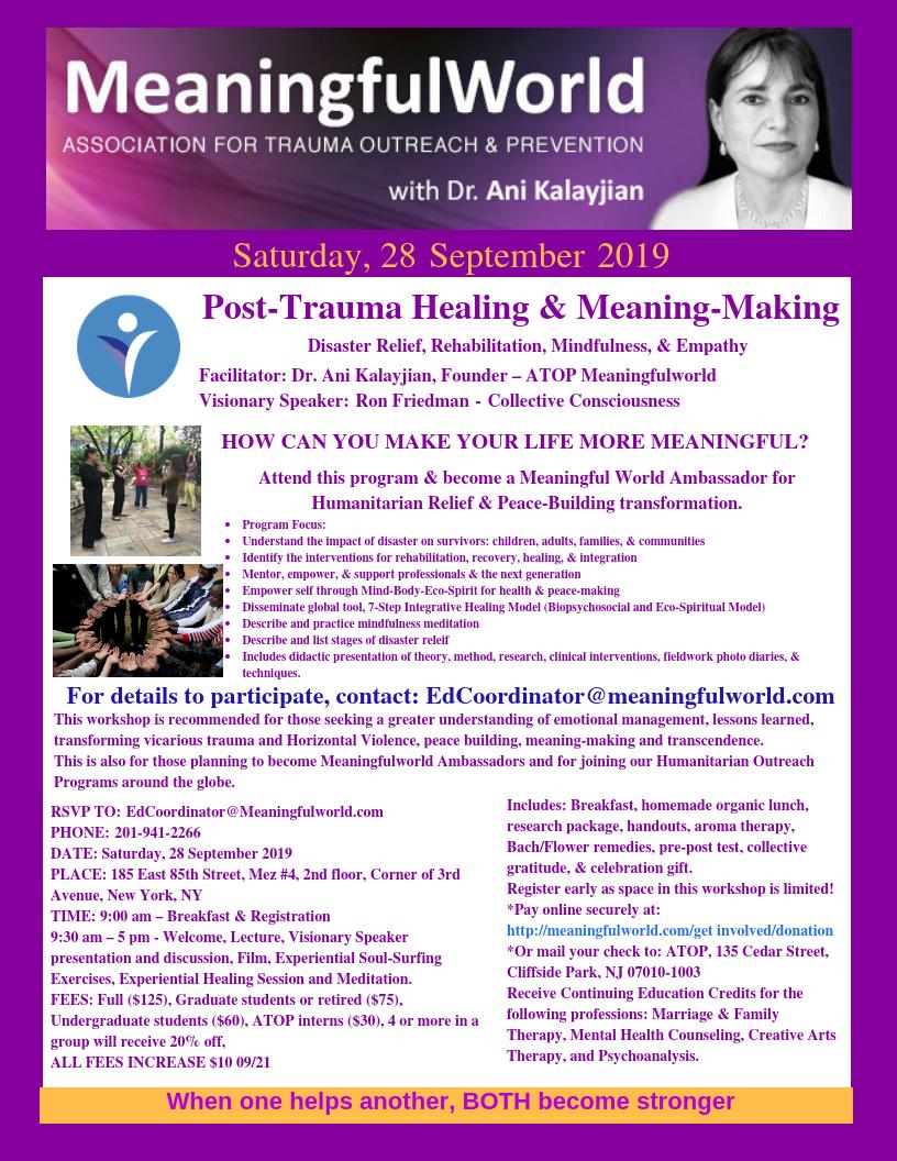 28 Sept Workshop